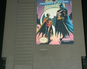 Batman & Robin - Shadows of Gotham (Hack of Shadow of the Ninja) NES Nintendo Repro