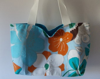 Fabric bag flower