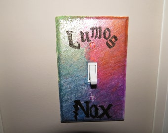 40% off! Lumos Nox Harry Potter Light Switch Cover