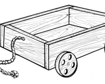 Wagon of Fun #906/6 - Woodworking / Craft Pattern.