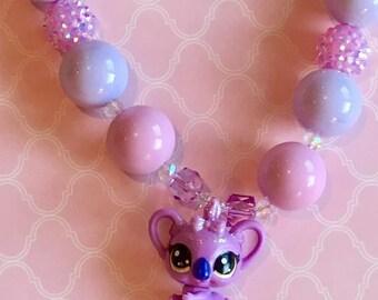Koala Purple Necklace