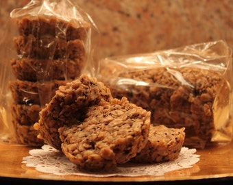 "One Dozen ""In the Round"" Gluten Free Vegan Oatmeal Energy Bars"