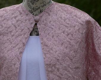 Womens Clothing Alternative Wedding Bolero Jacket Vintage Clothing Summer Jacket Handmade Clothing Evening Jacket 1960s Womens Fashion