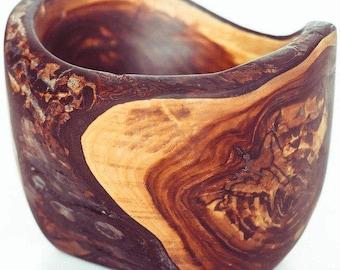 Natural Edge Wooden Bowl