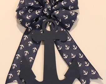 Anchor Bow & Anchor Wood Shape