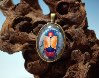 Jewel Beetle Pendant