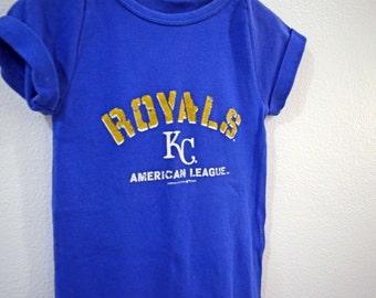 Kansas City Royals Romper - jumpsuit - shower gift - baby romper - one piece - baseball - bodysuits - baby shower gift - jumpsuit