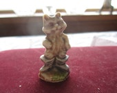 Puss in Boots. Wade Whimsie. Nursery Rhyme Figurine. Canadian Red Rose Tea. Made in England