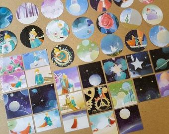 Little Prince stickers, Le Petit Prince, Le Petit Prince sticker, Little Prince - Lifelog stickers