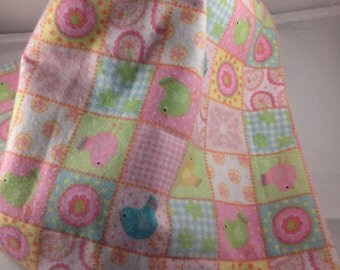 Lovey Security Blanket Soothing Blanket Baby Blanket Receiving blanket Doll Blanket