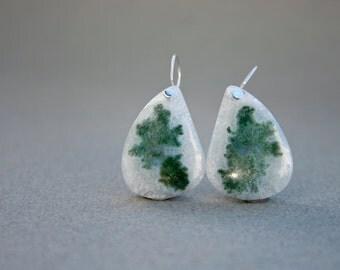 SALE 15 %OFF: Simple Solar Quartz Earrings in Sterling Silver