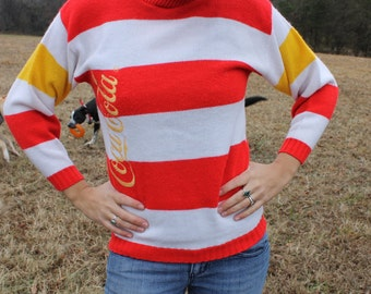 Sweater A mix between Where's Waldo and Ronald McDonald