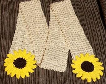 Sunflower Scarf