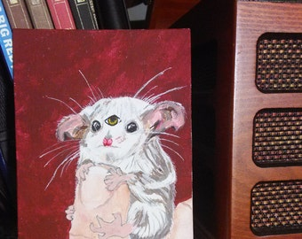 Squeakers the All Seeing Mouse Painting