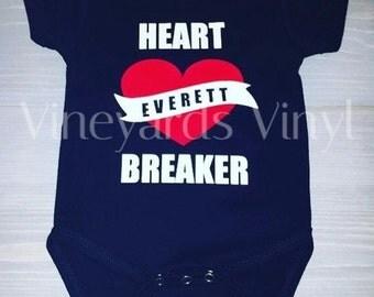 Custom Heartbreaker Onesie