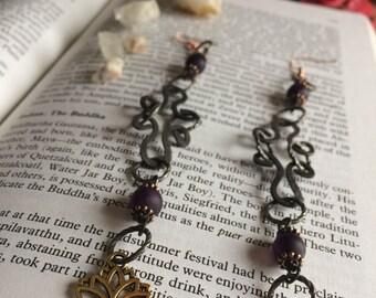 DARK GODDESS earrings