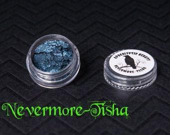 NeverMore-Tisha - vegan blue-black eyeshadow