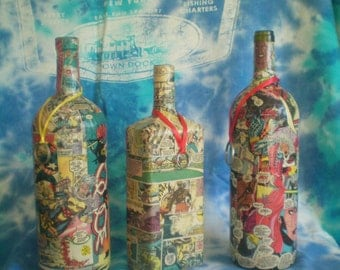 Comic Book Incense Bottle