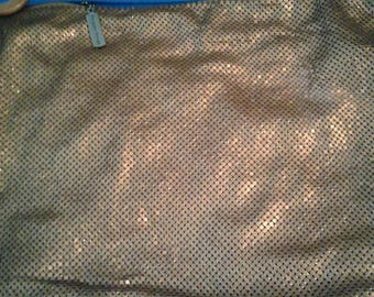 Whiting and Davis Matte Mesh Purse