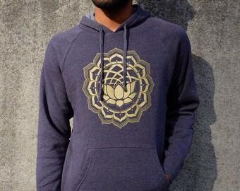 Sale Item - Sacred Geometry Clothing - Lotus Hoodie