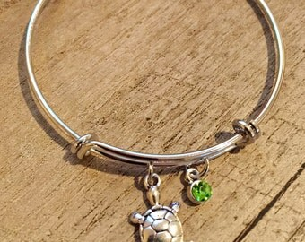 Turtle Bracelet, Turtle Jewelry, Bangles, I Love Turtles