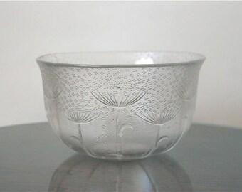 Rosenthal Studio Line Glass Bowl Flower Rain Designed by Nanny Still