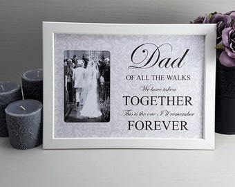 Dad Of All The Walks, Father Of Bride Gift, Father Wedding Gift, Gift From Bride, Wedding Print, Custom Dad Gift, Brides Parent Gift, NPP001
