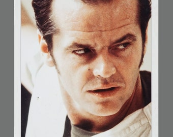 One Flew Over the Cuckoo's Nest Jack Nicholson Promo Card 5 x 7
