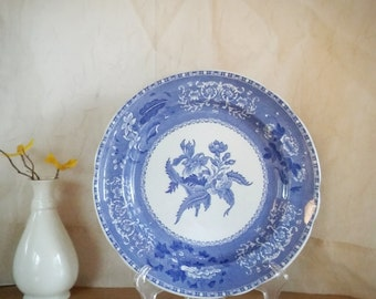 Spode, Copeland, Spode Camilla, England Plate, Vintage England, Simpsons Potters, French Cottage, French Victorian, Camilla, Transfer ware