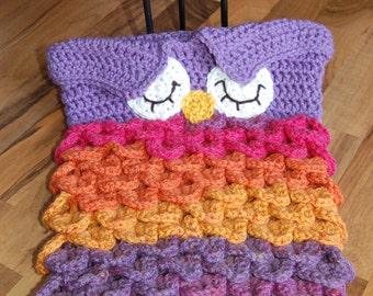 Baby Cocoon - Owl Cocoon - Baby Nest - Owl Costume - Newborn Photo Prop - Photography Prop - Owl Hat - Cosplay - Newborn Cocoon - Crochet