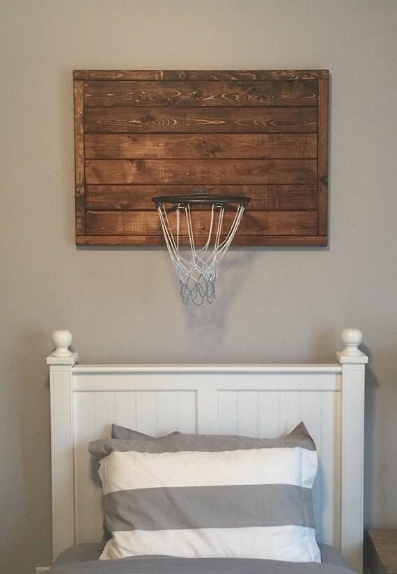 Custom Reclaimed Wood Basketball Hoop