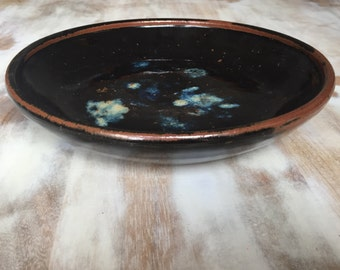 studio pottery bowl, signed by artist