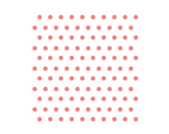 Polka Dots Stencil, Polka Dots Cookie Stencil, Polka Dots Cake Stencil, Polka Dot Cookies, 5.5 x 5.5, Polka Dot Sugar Cookies, Dots Stencil