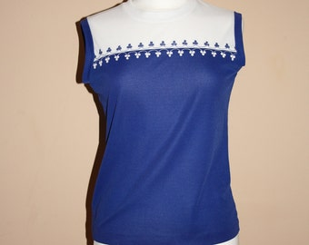 Vintage 60's sleeveless top