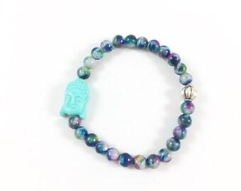 Meditation Bracelet, Yoga Bracelet, Buddha Bracelet, Buddhist Jewelry, Spiritual Jewelry, Stackable Bracelets for Women, Yoga Gifts