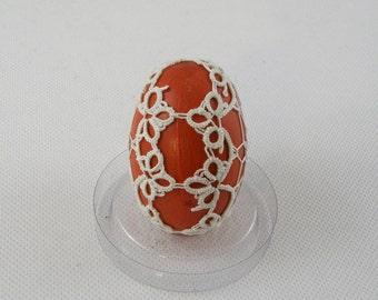 Tatting Easter egg