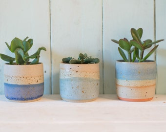 Speckled Mini Planter // Planter // Succulent Planter // Plant Stand // New Home // Plant Pot // Indoor Plant // Plants //
