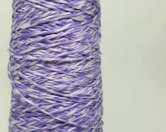 100% Mulberry Silk Yarn #20 Twisted Two Tone