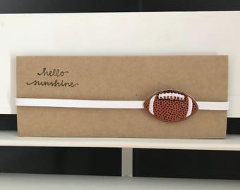 Football Headband for Newborn/Baby/Toddler/Girl