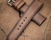 Handcrafted straps leather straps leather watch band