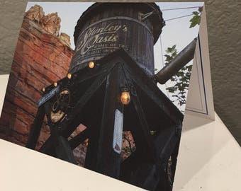 Stanley's Oasis CarsLand Disney Blank Card