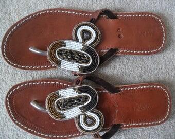 Leather African Sandlas