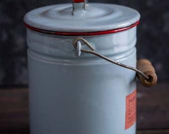 Chettinadu enamel canister