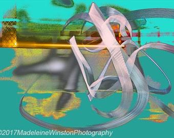 Abstract Photo Art - Light Graffiti