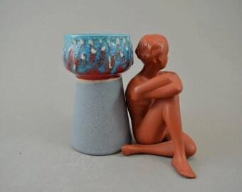 Vintage vase / Strehla | East Germany | GDR | 70s