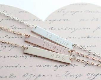 Valentines Gift for Wife / Personalized Necklace for Best Friend, Girlfriend, Mom, Daughter, Sister / Gifts under 50 / Gifts for Her