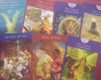 Past Present Future 3 Card Reading using the Angel Tarot