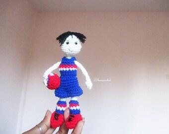 doll footy crochet : crochet,handmade,diy,keychain,doll,idea,design,yarn,cotton,pattern,wedding,gift,footy,rugby, hanging,bancrochet
