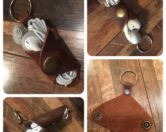 Earbud Holder...The Cord Coat