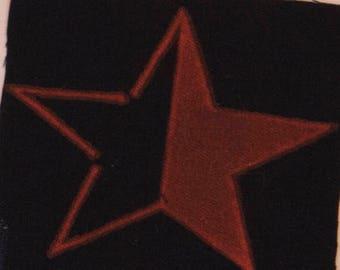 Anarcho Communist Star Patch